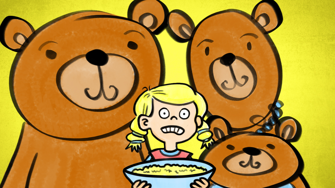 Uncategorized Goldilocks And Three Little Bears goldilocks the three bears pancake manor kids songs