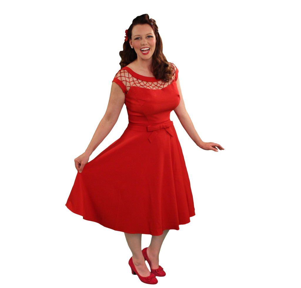 Pancake Manor Reb Mama Retro Dresses Red Modcloth Vintage