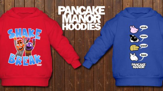 pancake manor hoodies