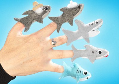 Baby Shark Finger Family