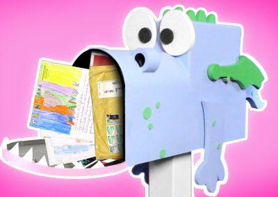 Jimbo is Stuffed with Mail